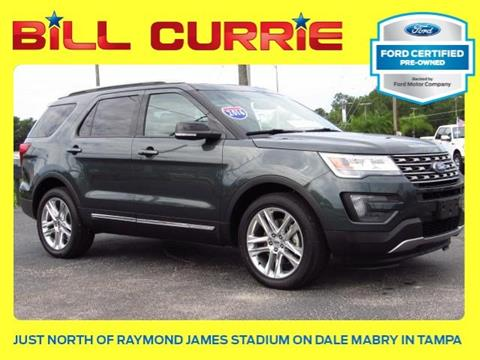 2016 Ford Explorer for sale in Tampa, FL