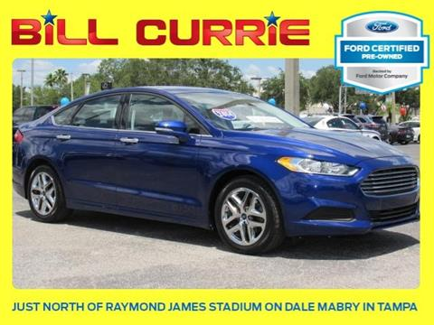 2014 Ford Fusion for sale in Tampa, FL