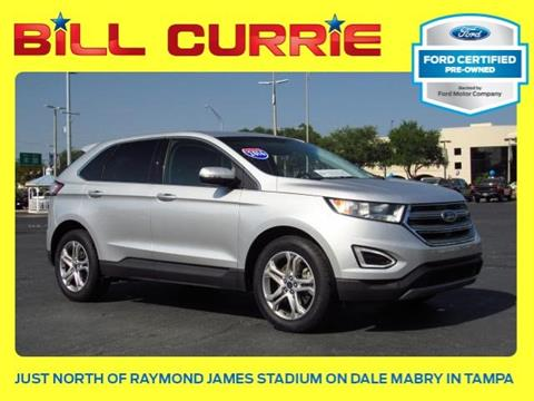 2016 Ford Edge for sale in Tampa, FL