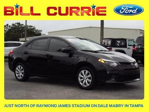 2014 Toyota Corolla for sale in Tampa, FL