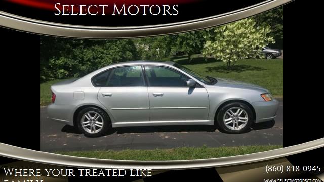 2005 Subaru Legacy Awd 25i Limited 4dr Sedan In Central Ct Select
