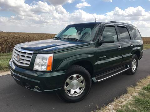 2002 Cadillac Escalade for sale in Tolono, IL