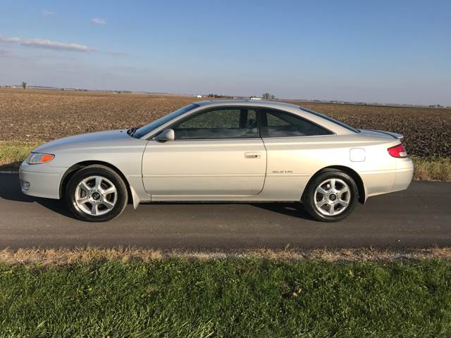 2000 toyota camry solara sle v6 2dr coupe in tolono il. Black Bedroom Furniture Sets. Home Design Ideas
