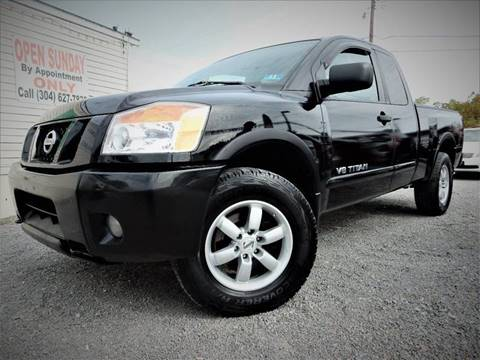 2008 Nissan Titan for sale in Anmoore, WV