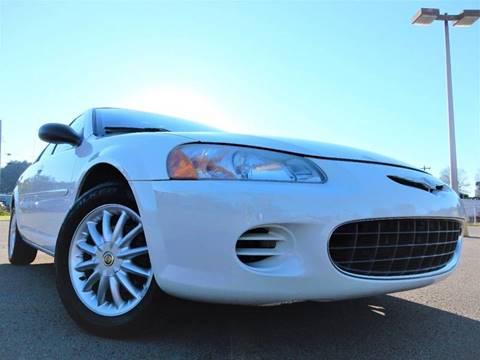 2002 Chrysler Sebring for sale in Anmoore, WV