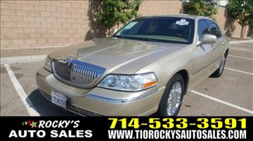 2007 Lincoln Town Car for sale in Anaheim, CA