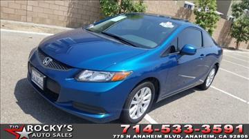 2012 Honda Civic for sale in Anaheim, CA