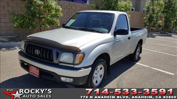 2003 Toyota Tacoma for sale in Anaheim, CA