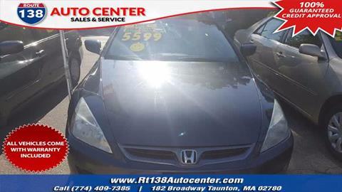 2007 Honda Accord for sale in Taunton MA