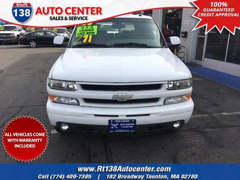 2003 Chevrolet Tahoe for sale in Taunton MA