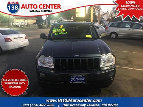 2007 Jeep Grand Cherokee for sale in Taunton, MA