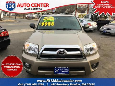 2007 Toyota 4Runner for sale in Taunton MA