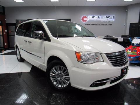 2012 Chrysler Town and Country for sale in Linden, NJ