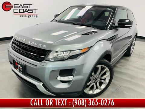2012 Land Rover Range Rover Evoque Coupe for sale in Linden, NJ
