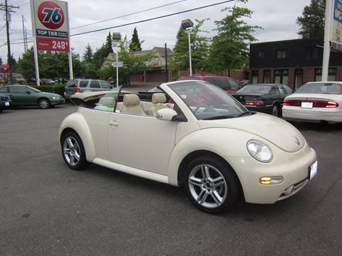 2005 Volkswagen New Beetle for sale in Tacoma, WA