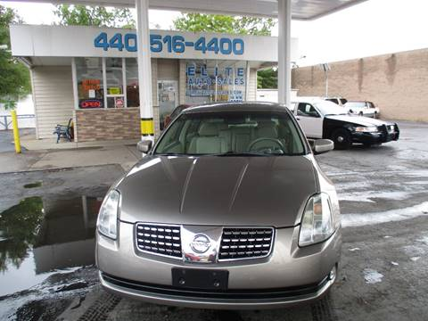 2005 Nissan Maxima for sale in Willowick, OH