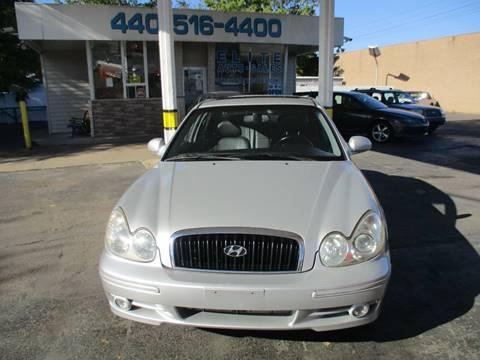 2004 Hyundai Sonata for sale in Willowick, OH