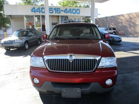 2004 Lincoln Aviator for sale in Willowick, OH