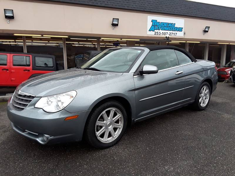 chrysler sebring convertible 2008 tire size