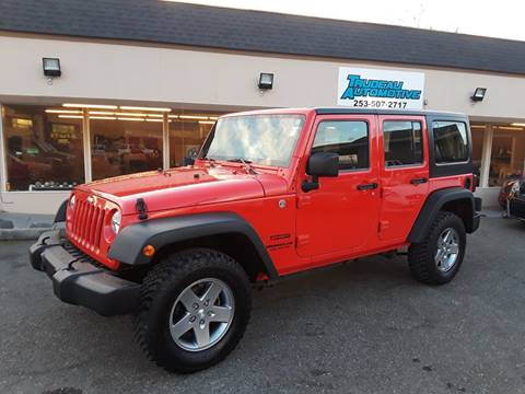 2013 Jeep Wrangler Unlimited for sale in Lakewood, WA