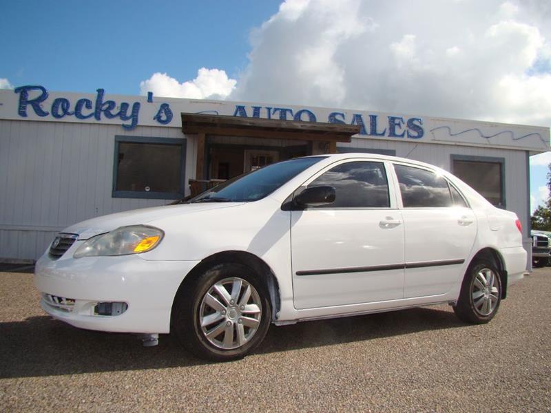 2007 Toyota Corolla For Sale At Rockyu0027s Auto Sales In Corpus Christi TX