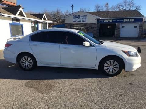 2012 Honda Accord for sale in Lincoln, NE