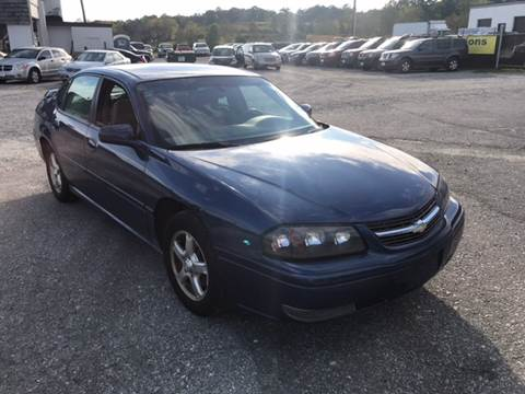 2005 Chevrolet Impala for sale in Wantage, NJ