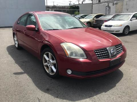 2006 Nissan Maxima for sale at Ron Motor Inc. in Wantage NJ