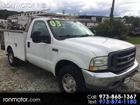 2003 Ford F-350 Super Duty for sale at Ron Motor Inc. in Wantage NJ