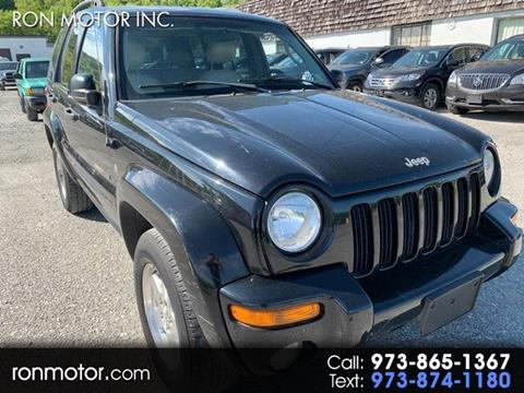2002 Jeep Liberty for sale in Wantage, NJ