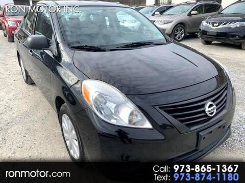2012 Nissan Versa for sale at Ron Motor Inc. in Wantage NJ