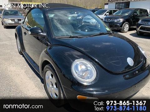 2003 Volkswagen New Beetle for sale in Wantage, NJ