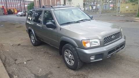 2001 Nissan Pathfinder for sale at Ron Motor Inc. in Wantage NJ