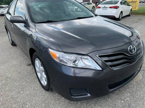 2010 Toyota Camry for sale at Ron Motor Inc. in Wantage NJ