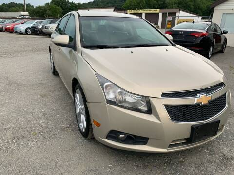 2012 Chevrolet Cruze for sale at Ron Motor Inc. in Wantage NJ