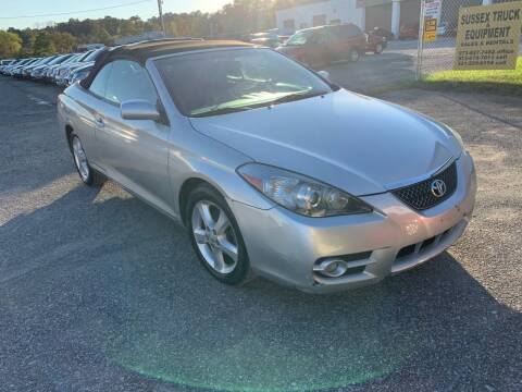 2008 Toyota Camry Solara for sale at Ron Motor Inc. in Wantage NJ