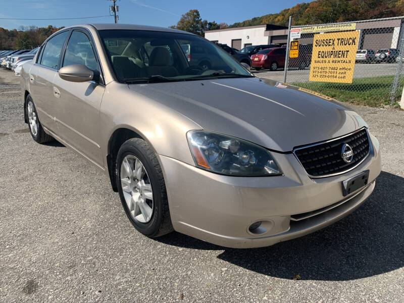 2006 Nissan Altima for sale at Ron Motor Inc. in Wantage NJ