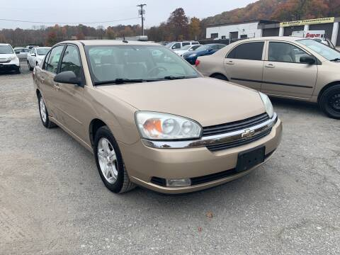 2004 Chevrolet Malibu for sale at Ron Motor Inc. in Wantage NJ