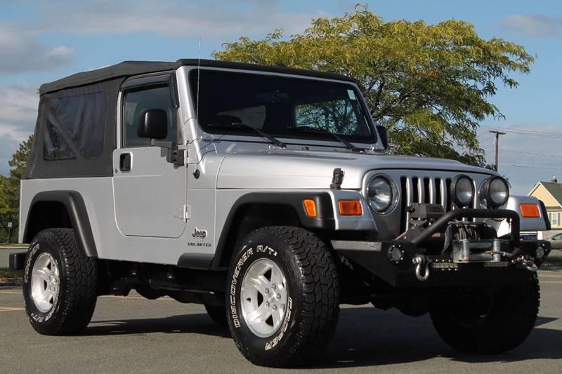 2004 jeep wrangler unlimited 4wd 2dr suv used jeep. Black Bedroom Furniture Sets. Home Design Ideas