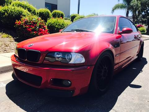 2002 BMW M3 for sale at Bozzuto Motors in San Diego CA