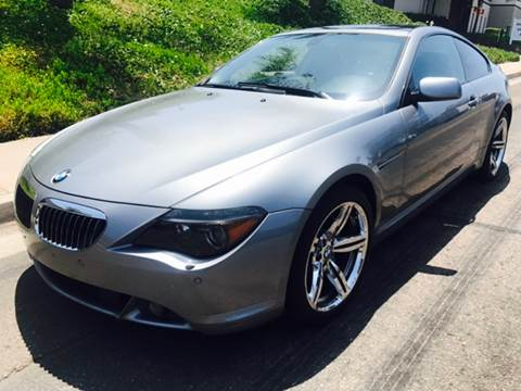2006 BMW 6 Series for sale at Bozzuto Motors in San Diego CA