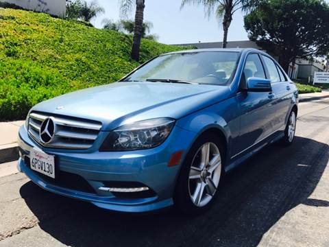 2011 Mercedes-Benz C-Class for sale at Bozzuto Motors in San Diego CA