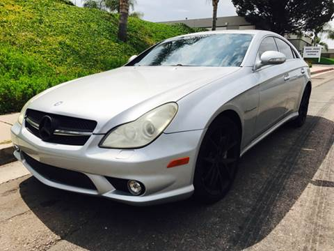 2006 Mercedes-Benz CLS for sale at Bozzuto Motors in San Diego CA