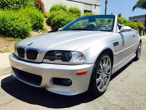 2004 BMW M3 for sale at Bozzuto Motors in San Diego CA