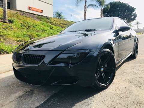 2007 BMW M6 for sale at Bozzuto Motors in San Diego CA