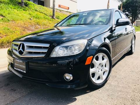 2008 Mercedes-Benz C-Class for sale at Bozzuto Motors in San Diego CA