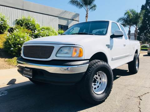 2002 Ford F-150 for sale at Bozzuto Motors in San Diego CA