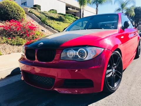 2008 BMW 1 Series for sale at Bozzuto Motors in San Diego CA