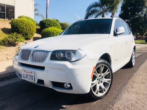 2010 BMW X3 for sale at Bozzuto Motors in San Diego CA