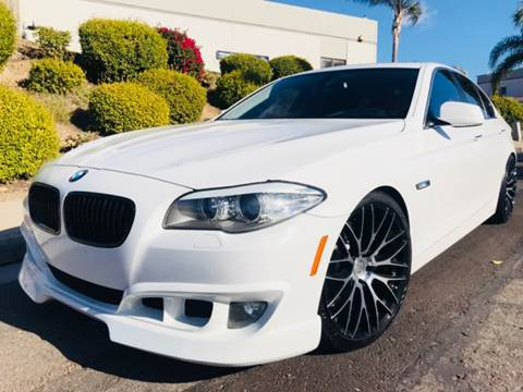 2011 BMW 5 Series for sale at Bozzuto Motors in San Diego CA
